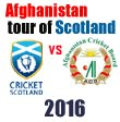 Afghanistan tour of Scotland 2016