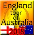 England tour of Australia 2018